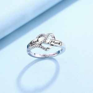one heart birthstone ring2